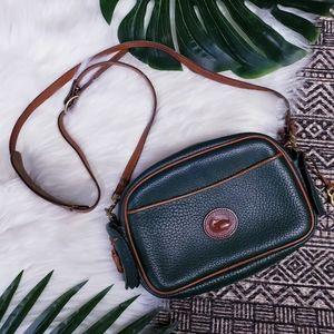 Dooney Bourke Vintage Green Kilty Kiltie Bag